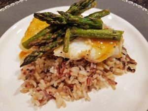Seared Cod with Citrus Beurre Blanc