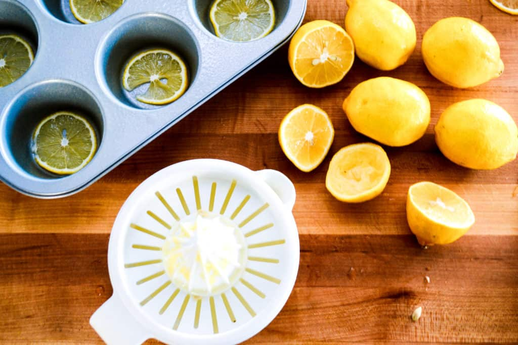 Sense & Edibility's Lemon Semolina Cakettes