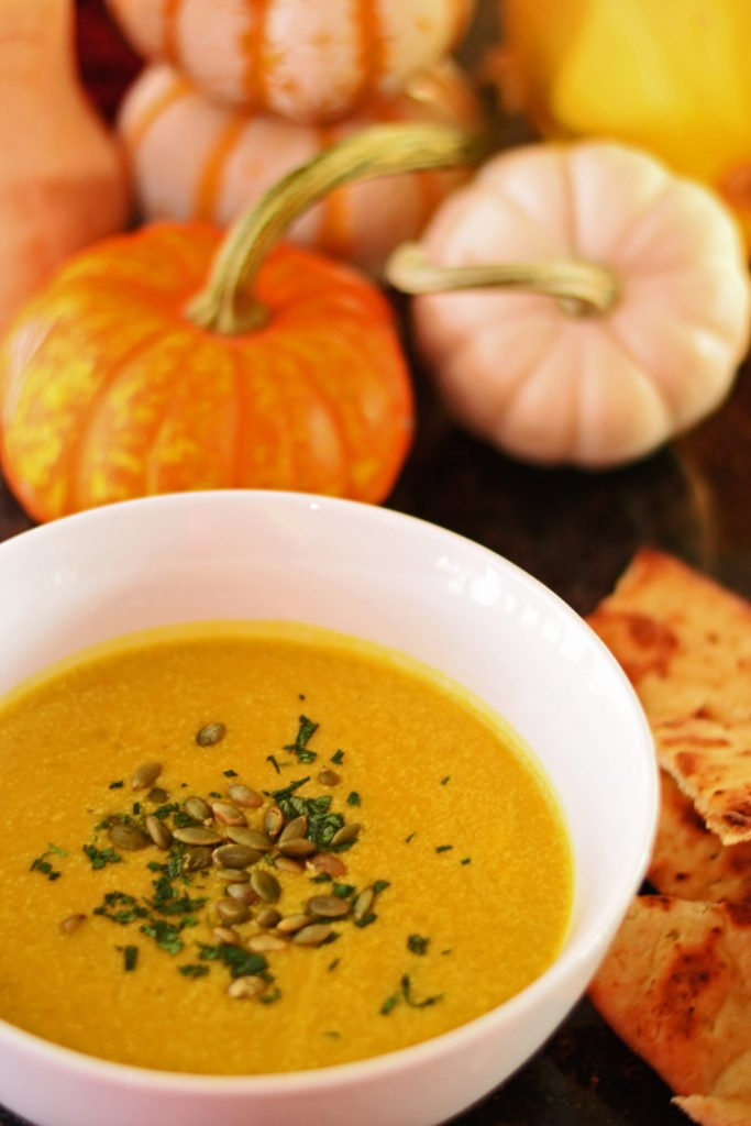 Sense & Edibility's Curried Pumpkin Soup