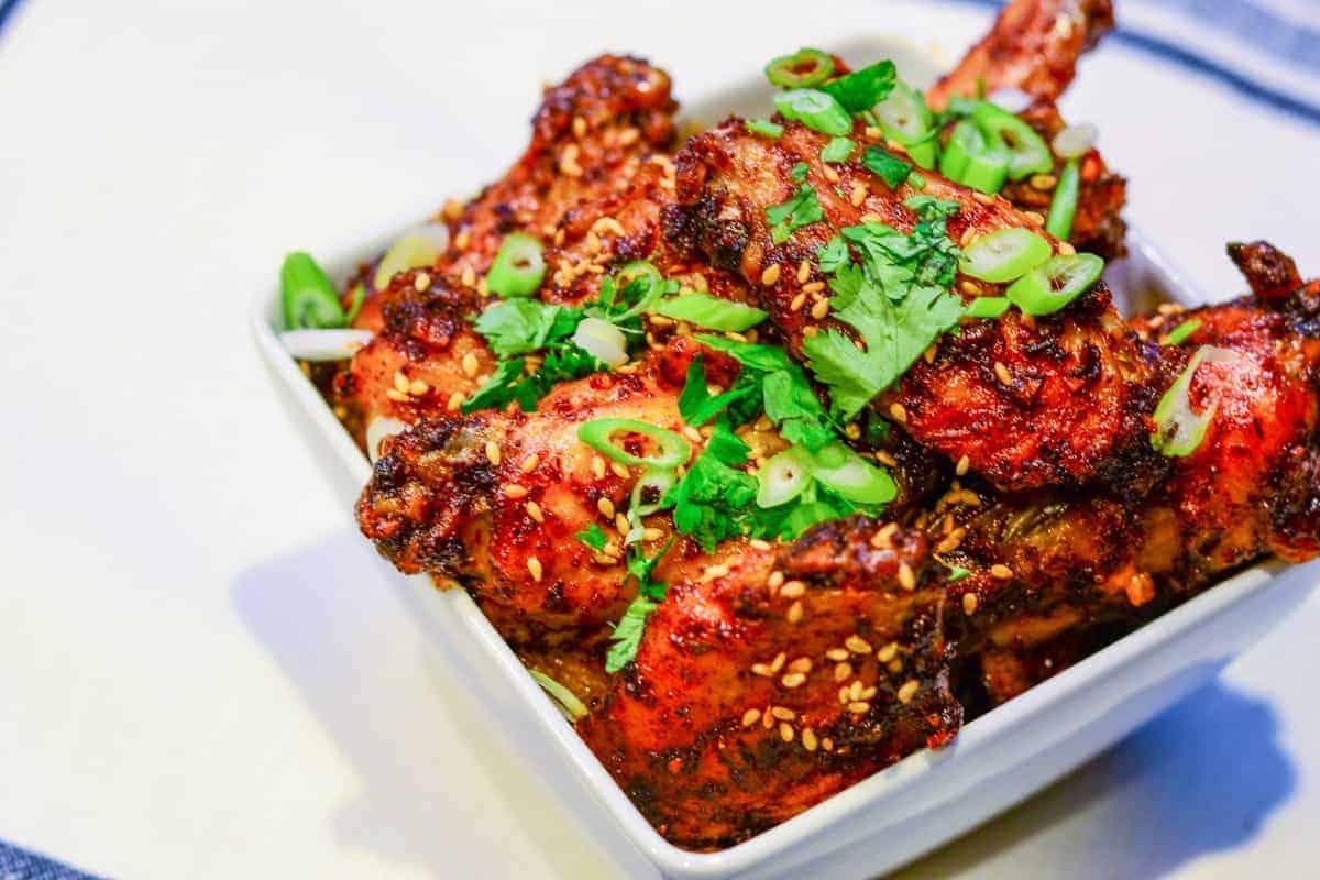 Sense & Edibility's Fauxchujang Chicken Wings