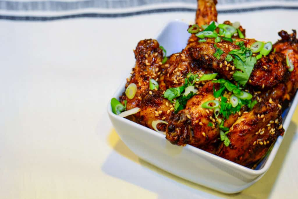 Sense & Edibility's Fauxchujang Chicken Wings