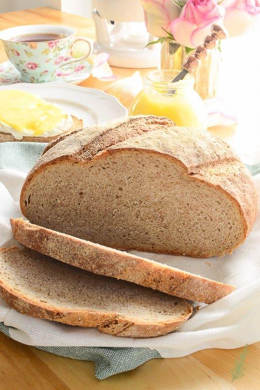 Sense&Edibility's Country-Stye Rye Bread