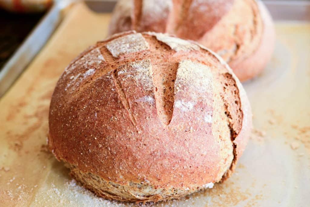 Sense & Edibility Country Rye Bread