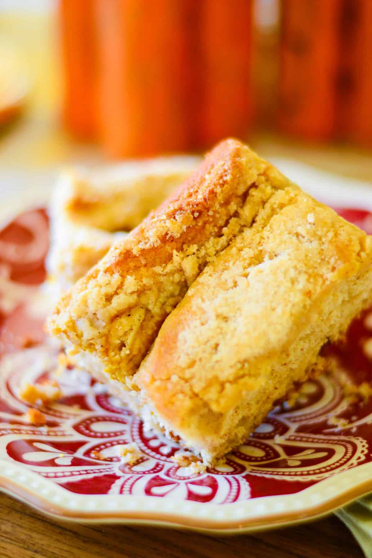 Sense & Edibility Pumpkin Streusel Coffee Cake