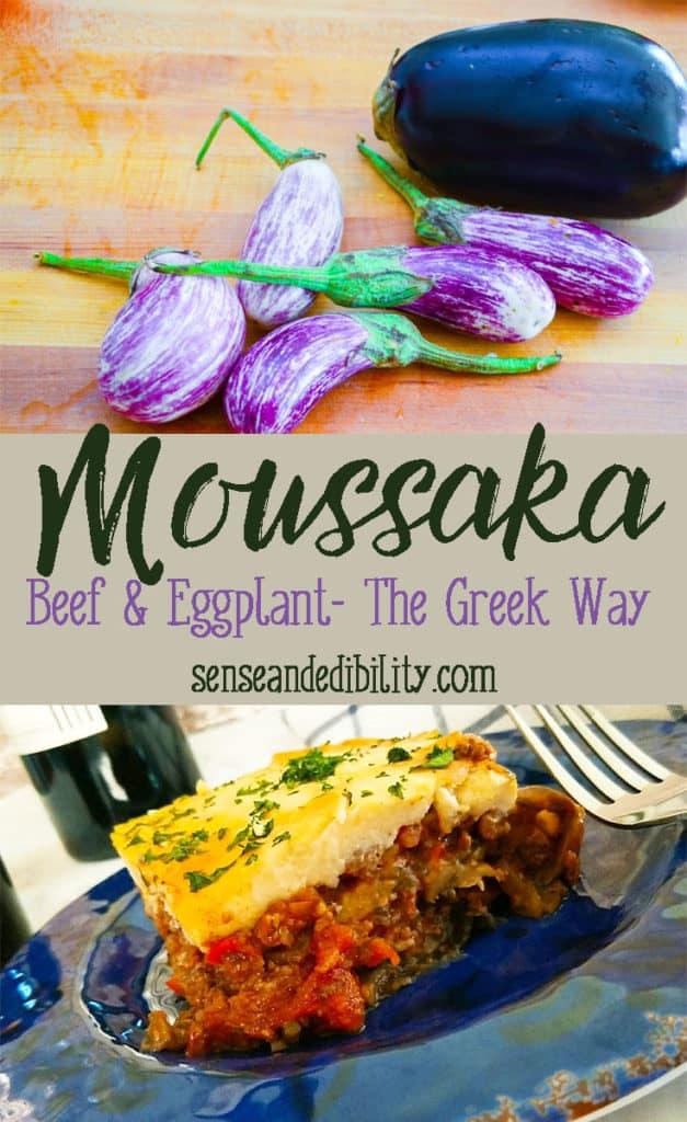 Sense & Edibility's Moussaka