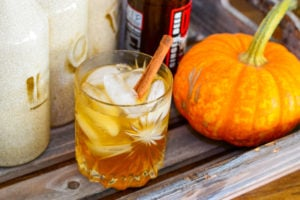Warming Pumpkin-Spiced Moscow Mule