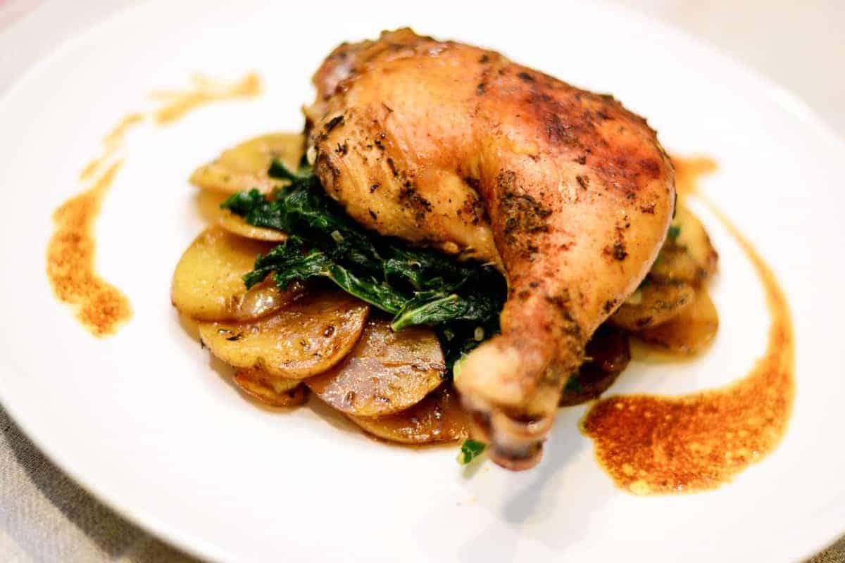 Sense & Edibility Chicken and Potato Thyme