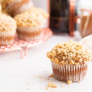 Spiced Pumpkin Muffins with Streusel Topping