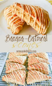 Banana Oatmeal Scone