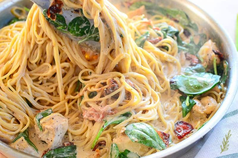 Sense & Edibility Chicken Tuscano Pasta