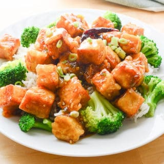 "General Tso's ""Chicken"" (Vegan)"