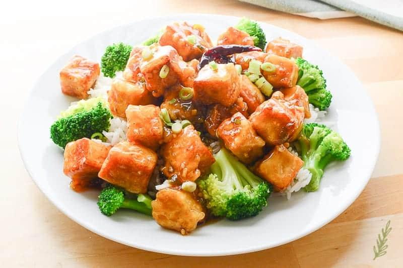 Sense&Edibility's Vegan GEN Tso Chicken