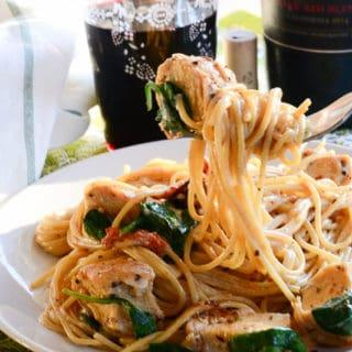 Sense & Edibility's Chicken Tuscano Pasta