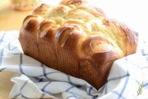 Sense & Edibility's Brioche Bread