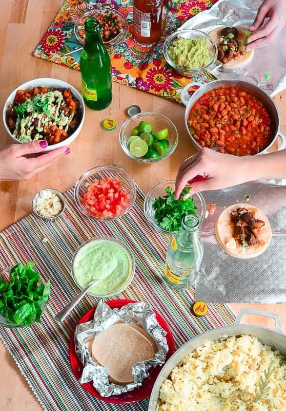 Sense & Edibility's Drunken Carnitas Bowl