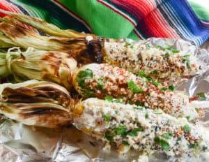 Sense & Edibility's Mexican Street Corn