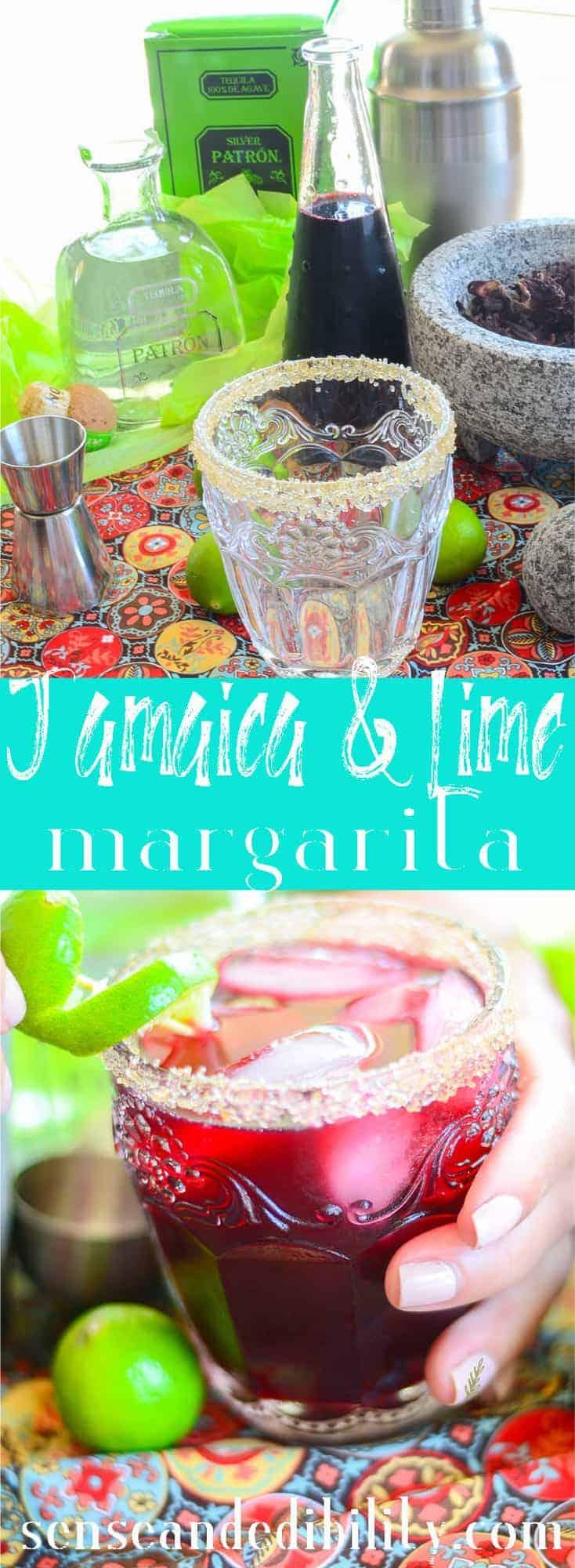 Sense & Edibility's Jamaica-Lime Margaritas Pin
