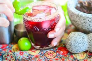 Jamaica-Lime Margarita: Cinco de Mayo Recipe Ideas Part 2