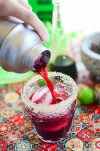 Sense & Edibility's Jamaica-Lime Margaritas