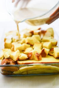 Sense & Edibility's Bananas Foster French Toast