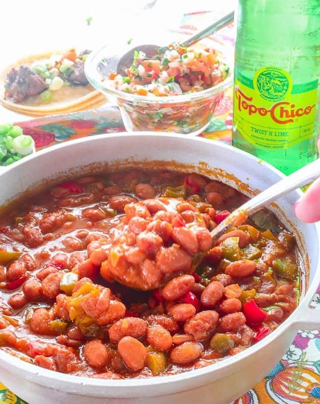 Sense & Edibility's Borracho Beans