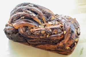 Sense & Edibility's Nutella & Almond Brioche