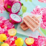 Sense & Edibility's Guava & Dragonfruit Popsicles