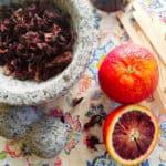 Sense & Edibility's Hibiscus, Blood Orange & Cardamom Paletas