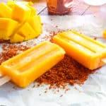 Sense & Edibility's Mango-Rosewater Paletas
