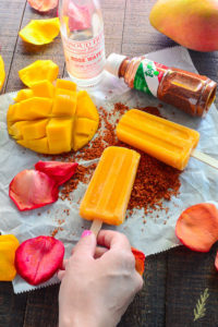 Mango-Rosewater Paletas: Extra Spice Included