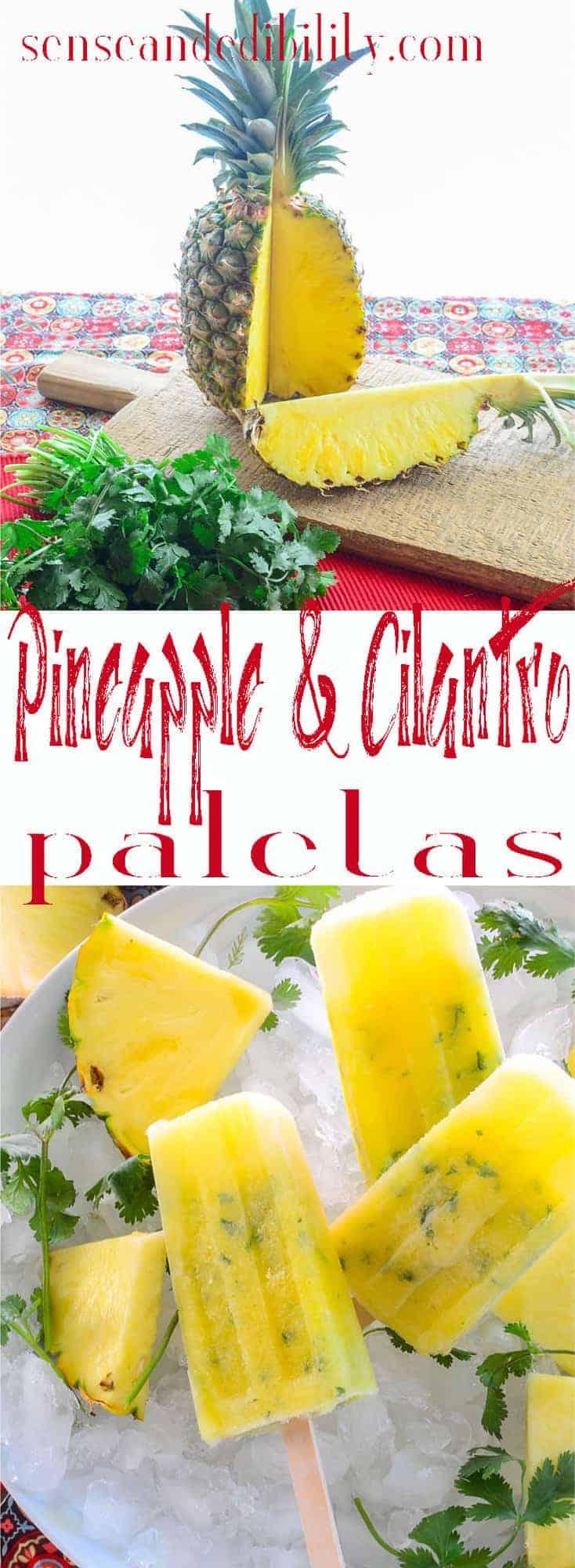 Pineapple Cilantro Paletas Pin