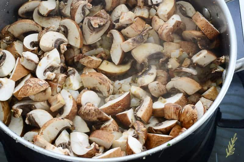 Sense & Edibility's Unstuffed Mushroom