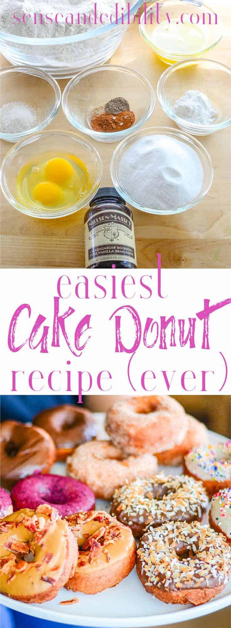 Sense & Edibility's Cake Donuts Pin