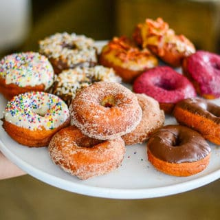 Sense & Edibility's Cake Donuts