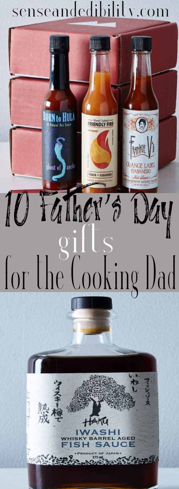 Sense & Edibility's Father's Day 2017 Pin
