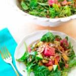 Sense & Edibility's Mediterranean Summer Salad