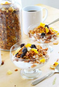 Tropical Fruit Granola Recipe (My New Age Resolution)