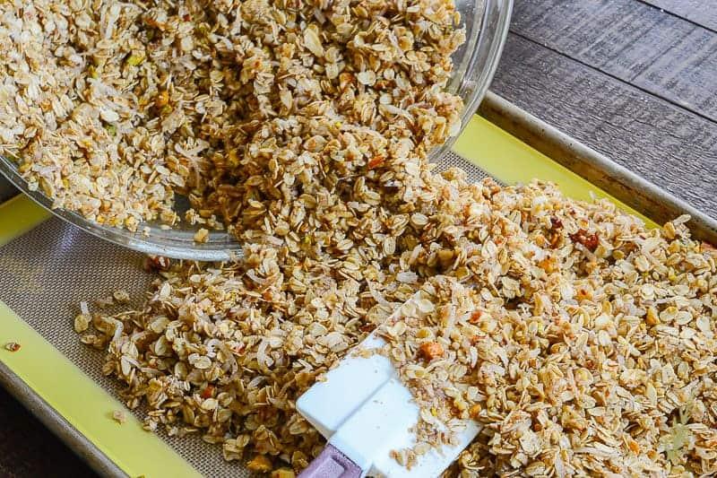 Sense & Edibility's Tropical Granola
