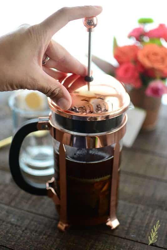 Sense & Edibility's Pumpkin Spice Chai Latte