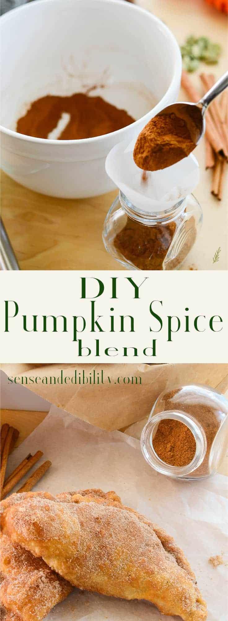 Sense & Edibility's Pumpkin Spice Blend Pin