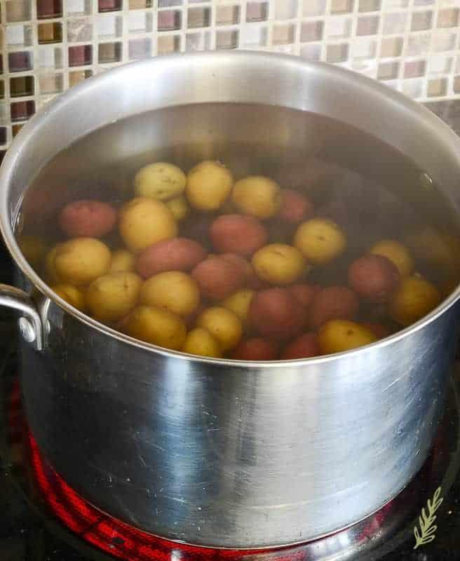 Sense & Edibility's Crispy Baby Potatoes
