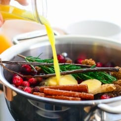 Sense and Edibility's Boozy Cranberry Sauce