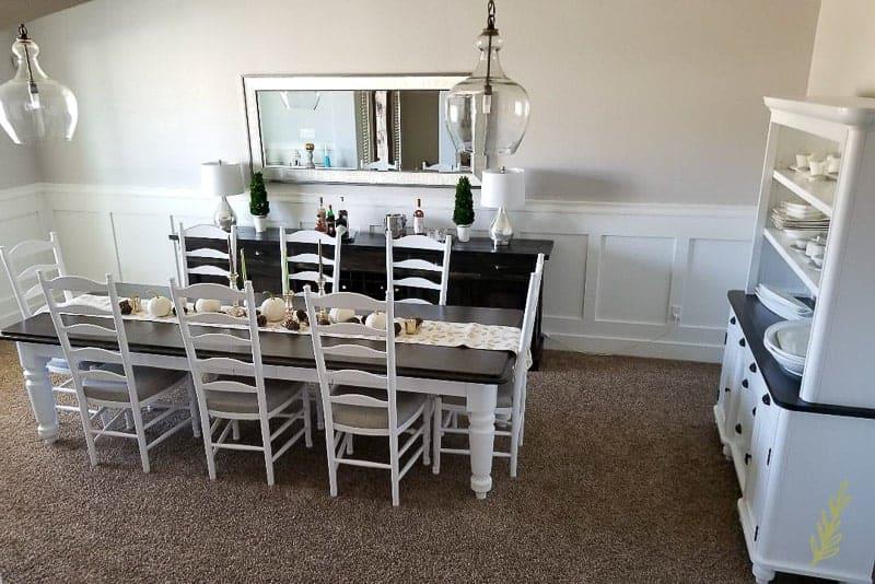 Sense & Edibility's Dining Room DIY