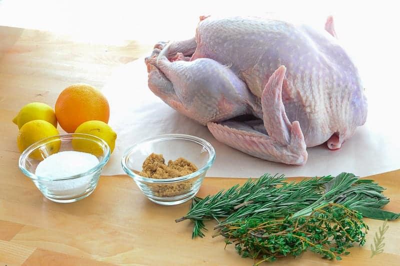 Sense & Edibility's How to Dry Brine a Turkey