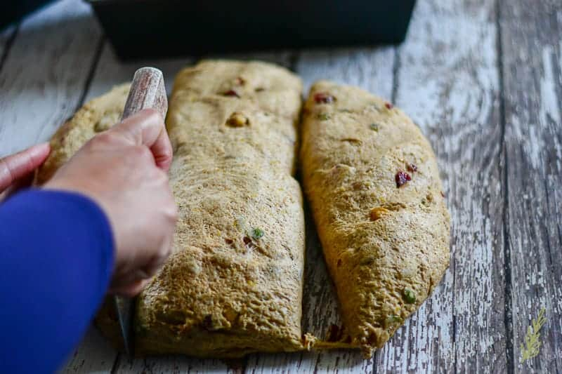 Sense & Edibility's Fruit and Nut Pumpkin Bread