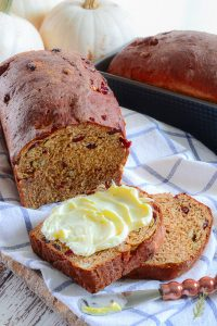 Sense & Edibility's Fruit and Nut Pumpkin Bread