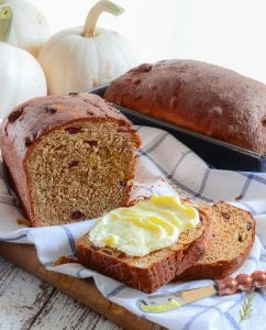 Fruit and Grain Pumpkin Bread