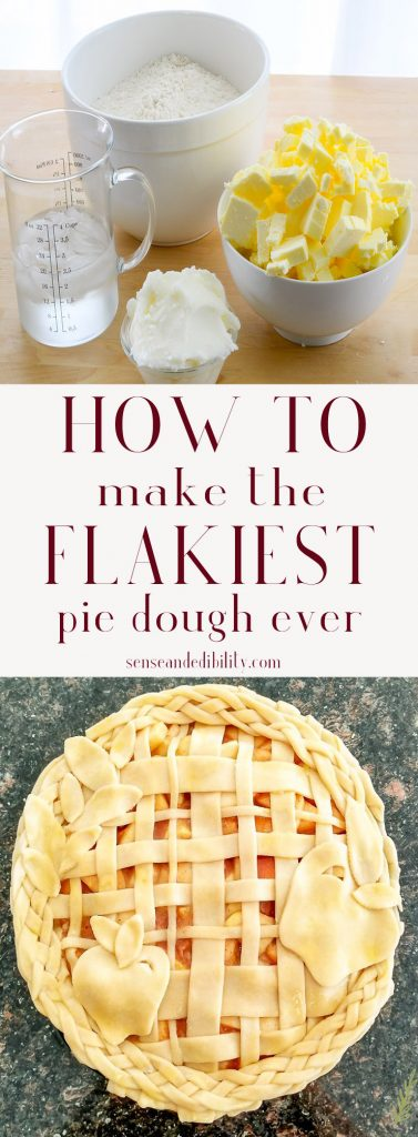 Sense & Edibility's Simple Pie Dough Pin