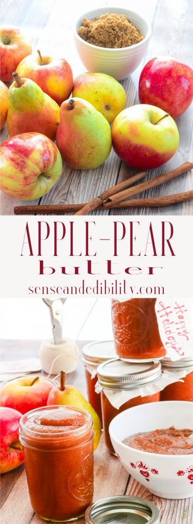 Sense & Edibility's Apple-Pear Butter Pin