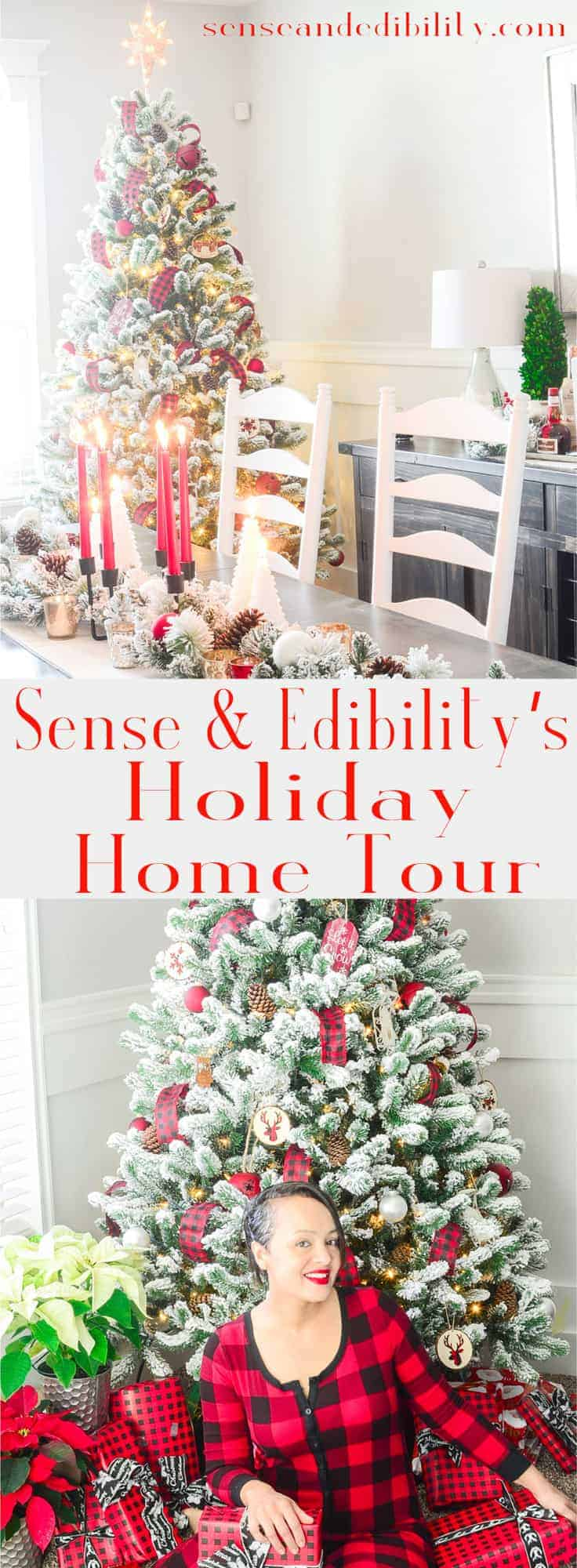 Sense & Edibility's Holiday Home Tour Pin